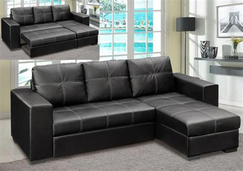 leather chaise sofa bed sofas furniture sleeper sofa leather sectional
