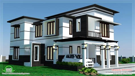 house modern design pictures 2500 sq 4 bedroom modern home design kerala home