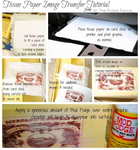 how to decoupage with tissue paper 18 best images about tissue paper prints on