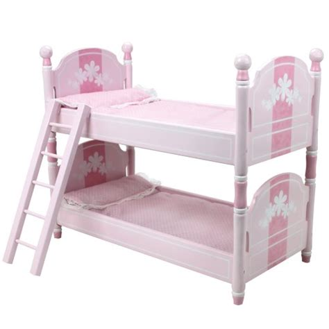 18 doll bunk bed 18 inch doll bunk bed doll bedding ladder doll