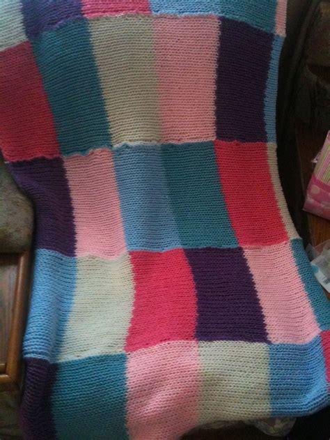 knitting loom blanket crib blanket made on knitting loom arts and crafts