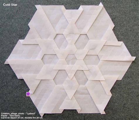 origami tesselations easy origami tessellation comot