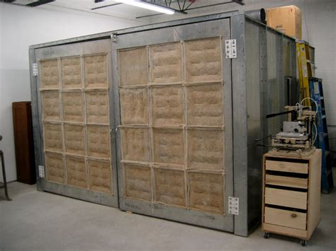 spray booth for woodworking woodworking spray booth plans free