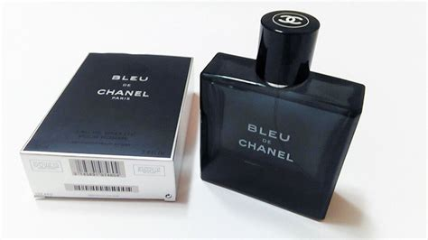bleu de chanel eau de toilette spray for 3 4 oz 100ml empty bottle in box what s it worth