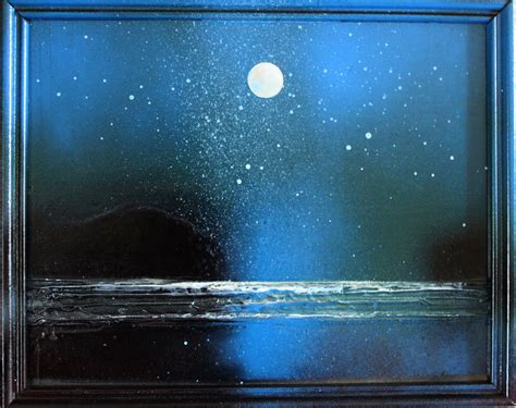 acrylic painting moonlight toni grote spiritual from my to yours january 2014