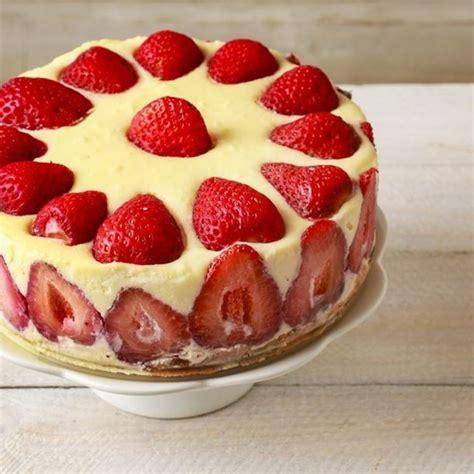 recette g 226 teau d anniversaire aux fraises