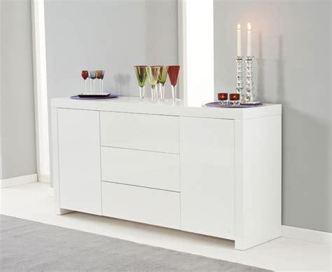 Ikea Kitchen Sets Furniture ornella white high gloss sideboard oak furniture solutions