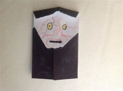 how to make origami emperor palpatine emperor palpatine finished product origami yoda