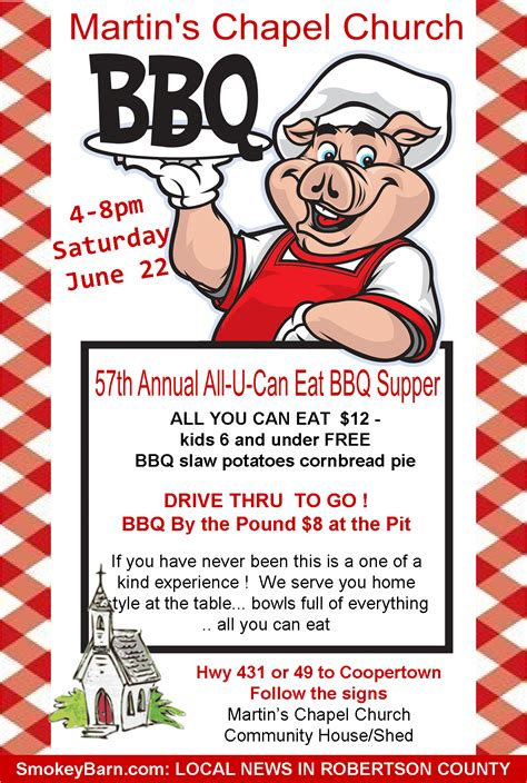 free printable flyers 8 best images of bbq flyer free printables free