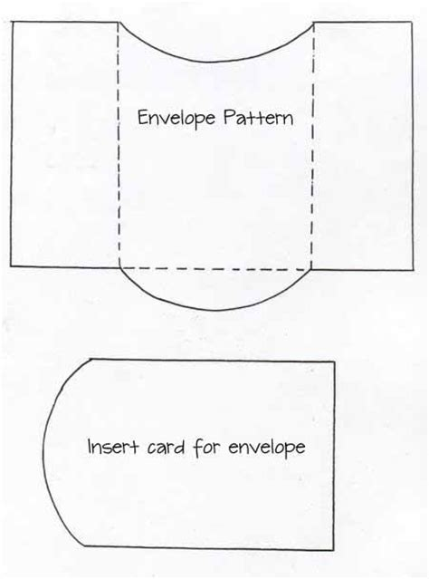envelope templates for card envelope and card insert template crafty card folds