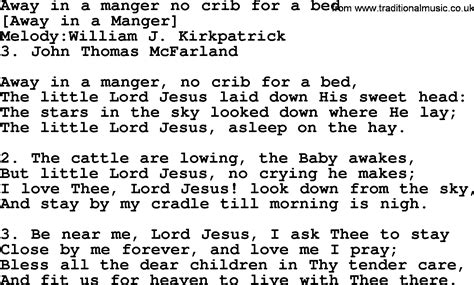 no crib for a bed away in a manger no crib for a bed lyrics welcome to ppt