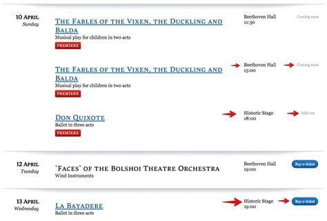 compra de entradas de teatro teatro bolsh 243 i de mosc 250 entradas y visitas guiadas