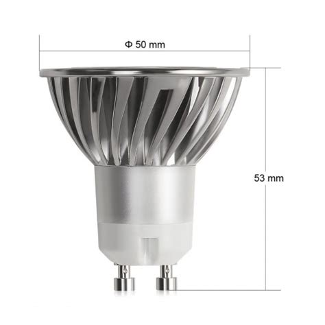 led track light bulb dimmable 4w gu10 led bulbs 35w equivalent recessed