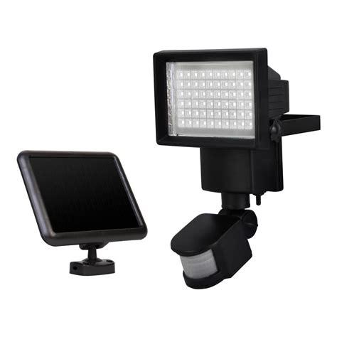 solar security light with motion sensor sunforce solar motion security light with 60 led 82156
