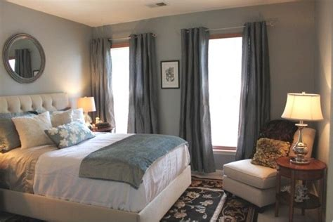 light blue grey bedroom great color soothing blue gray in the bedroom
