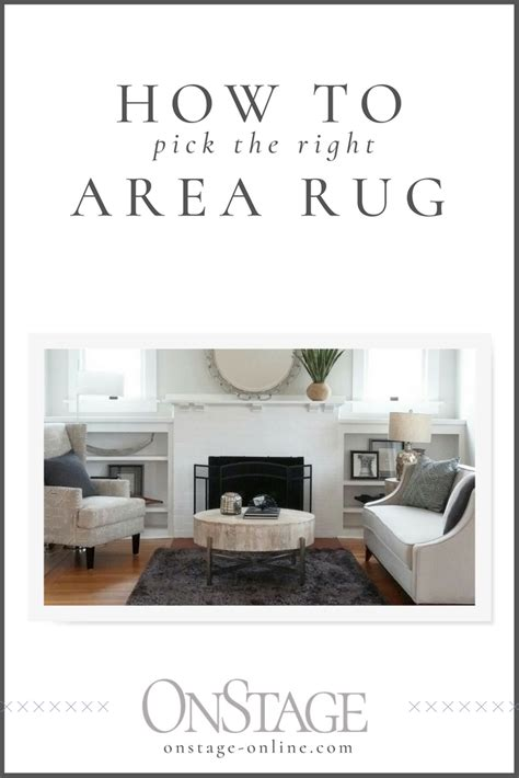 how to choose the right area rug how to choose the right area rug onstage