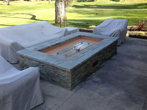 firepits gas diy gas pit burner fireplace design ideas