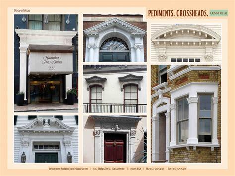 exterior door pediment windows and doors headers gable roof design pediment