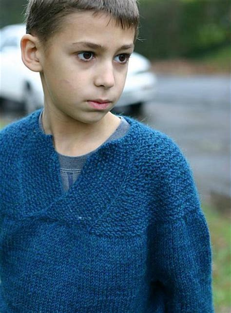 knit boy almost seamless pullover sweater pattern aiden