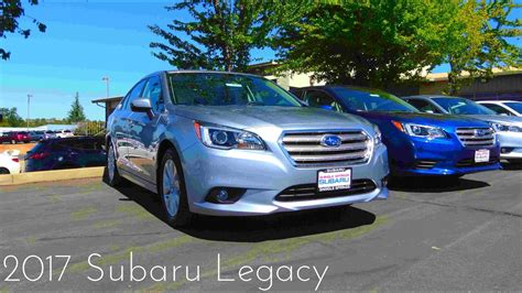 2016 Subaru Legacy Premium Review by 2017 Subaru Legacy 2 5i Premium Review