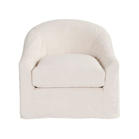 swivel chair slipcover lenoir swivel chair slipcover and frame ballard designs
