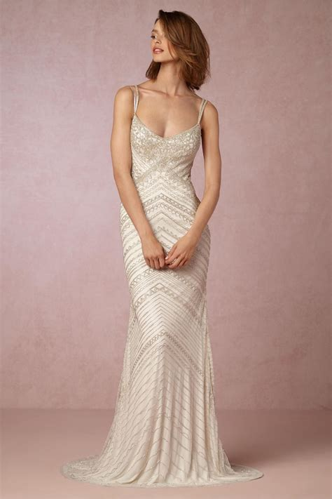 beadwork gown exquisite beadwork joslyn gown from bhldn the modern