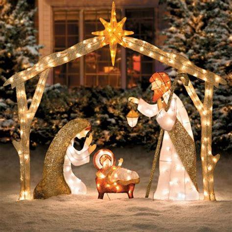 nativity decorations outdoor outdoor nativity sets