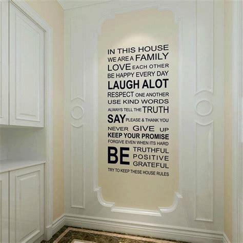 in this house wall sticker in this house vinyl wall sticker 187 gadget flow