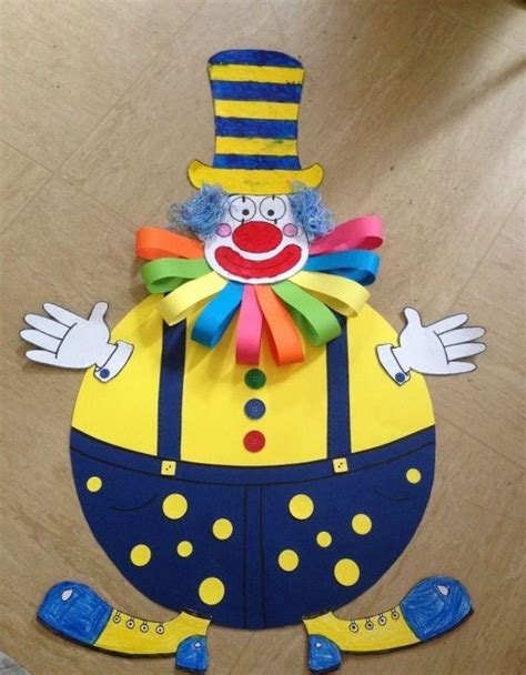 clown crafts for 25 best ideas about clown crafts on circus