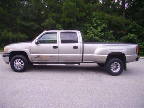 buy used 2001 gmc sierra 3500 4 door dually 8 1 liter gas engine 187k miles nice truck in bremen