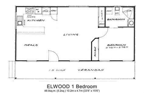Granny Flats Floor Plans 1 bedroom granny flat melbourne 1 bedroom relocatable homes