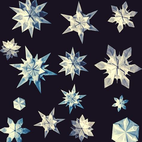 origami snowflakes 8 best images about origami diagrams on