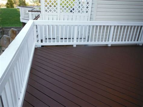 behr paint colors for decks behr quot russet quot solid color deck stain on the flooring behr