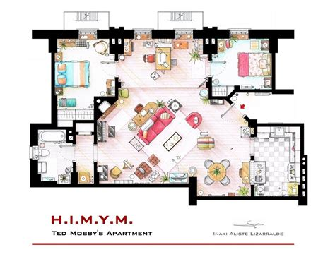 floor plans of tv show houses floor plans of homes from tv shows