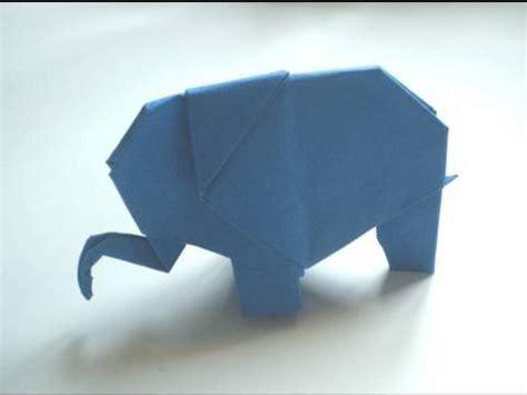 how to fold origami elephant origami elephant