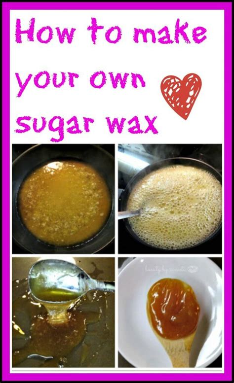 how to make your own how to make your own sugar wax