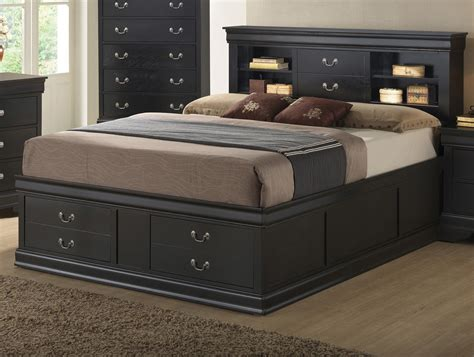 bed with bookcase headboard storage bed with bookcase headboard gallery and