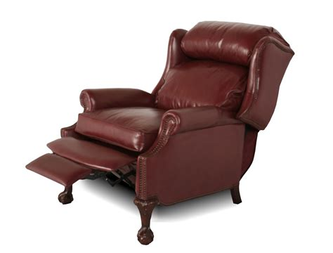 leather wingback recliner wingback leather recliner