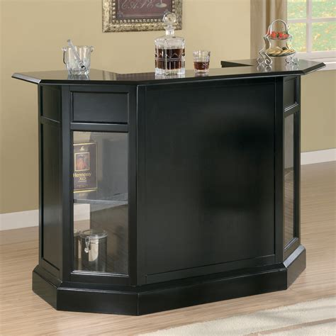 modern home bar furniture coaster furniture modern bar unit atg stores
