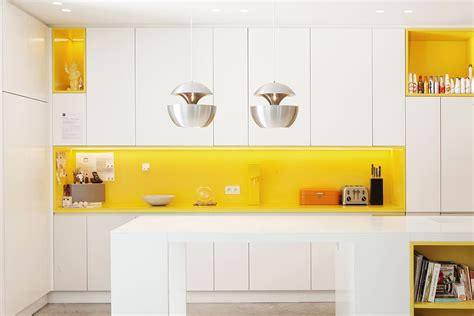 backsplash for yellow kitchen kitchen white kitchen with bright yellow backsplash