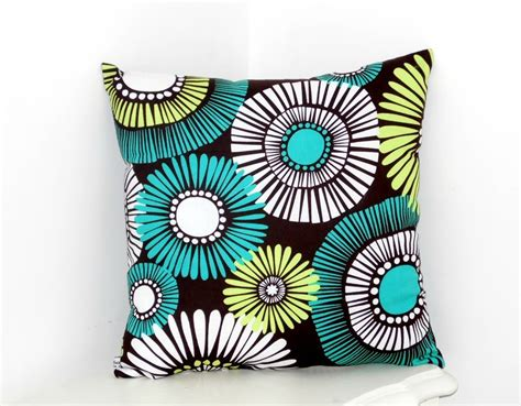 coussin deco turquoise
