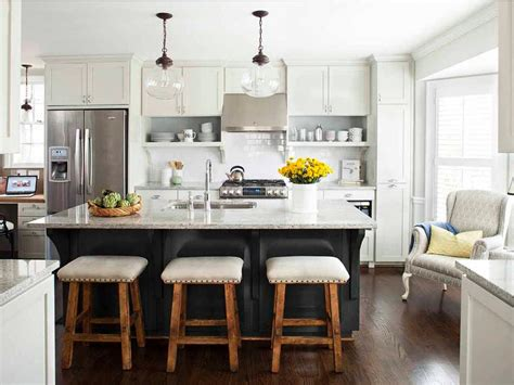 white kitchen islands with seating gray and white kitchen with island seating hgtv