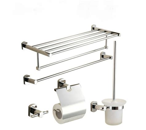 5 chrome finish bathroom accessory set 001 faucets