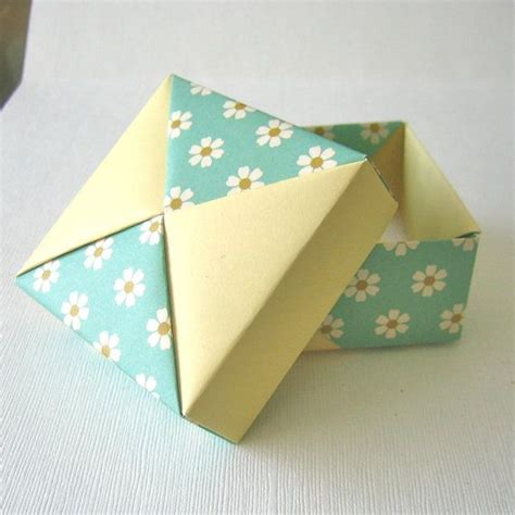 present box origami origami gift boxes folded paper and origami ƹ ӝ ʒ