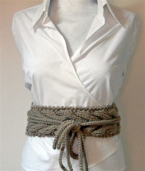 knitting belt adjustable knitted wool belt it s all in the details