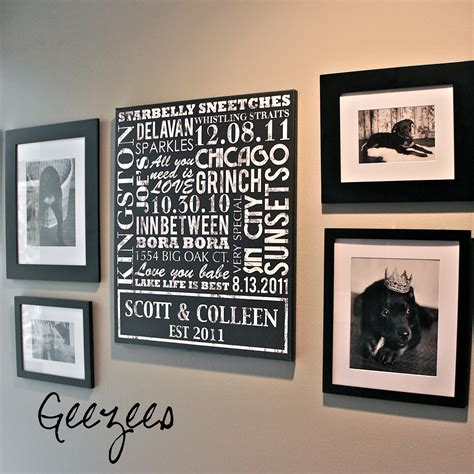 20 inspirations personalized family wall wall ideas