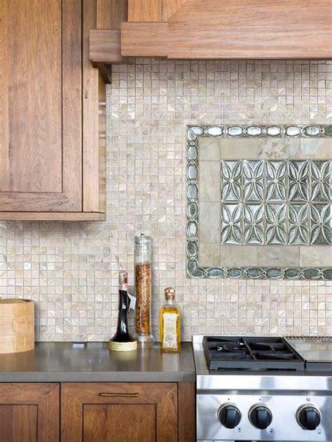Ceramic Tile Murals For Kitchen Backsplash mother of pearl tile kitchen backsplash ideas
