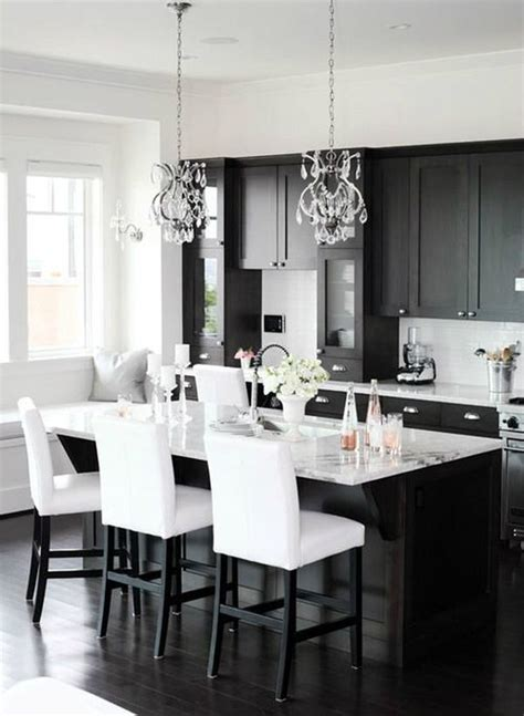 black and white kitchens one color fits most black kitchen cabinets