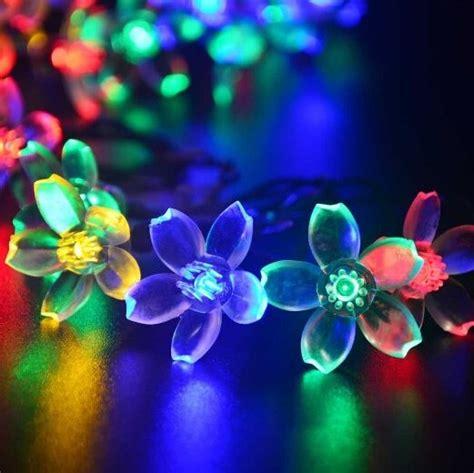led flower string lights 4m 13ft flower string lights outdoor 20 led blossom