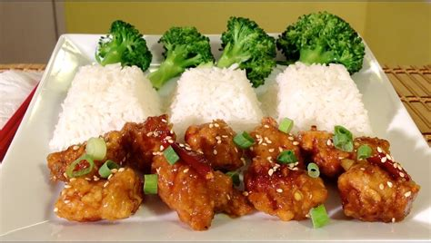 foods recipes how to make orange chicken recipe asian food recipes